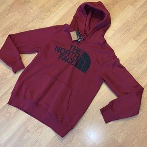 NWT The North Face Half Dome Hoodie RTO, Red, M